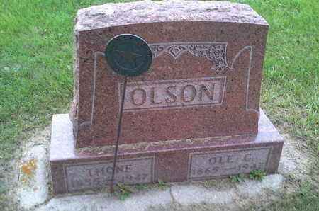 OLSON, OLE G - Hamlin County, South Dakota | OLE G OLSON - South Dakota Gravestone Photos
