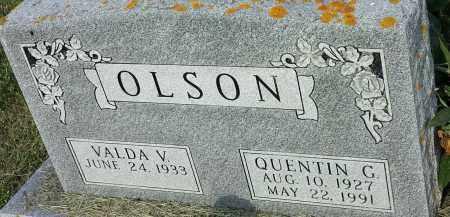 OLSON, VALDA V - Hamlin County, South Dakota | VALDA V OLSON - South Dakota Gravestone Photos