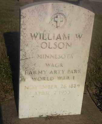 OLSON, WILLIAM W (MILITARY) - Hamlin County, South Dakota | WILLIAM W (MILITARY) OLSON - South Dakota Gravestone Photos