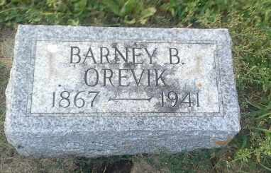 ORVEVIK, BARNEY B - Hamlin County, South Dakota | BARNEY B ORVEVIK - South Dakota Gravestone Photos