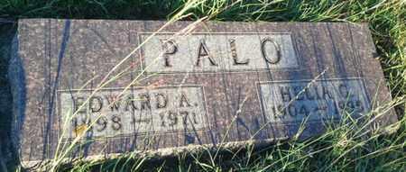PALO, EDWARD A - Hamlin County, South Dakota | EDWARD A PALO - South Dakota Gravestone Photos