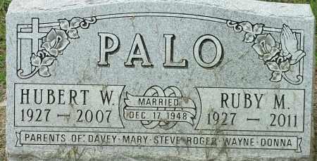 PALO, HUBERT W - Hamlin County, South Dakota   HUBERT W PALO - South Dakota Gravestone Photos