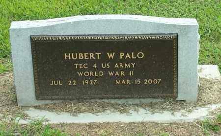 "PALO, HUBERT W ""MILITARY"" - Hamlin County, South Dakota | HUBERT W ""MILITARY"" PALO - South Dakota Gravestone Photos"