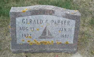 PARKER, GERALD G - Hamlin County, South Dakota | GERALD G PARKER - South Dakota Gravestone Photos