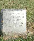 PARKER, JOHN DWIGH - Hamlin County, South Dakota | JOHN DWIGH PARKER - South Dakota Gravestone Photos