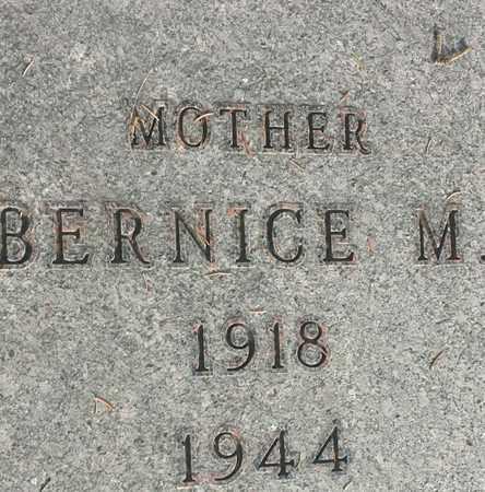 PETERSEN, BERNICE M - Hamlin County, South Dakota   BERNICE M PETERSEN - South Dakota Gravestone Photos
