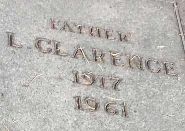 PETERSEN, L CLARENCE - Hamlin County, South Dakota   L CLARENCE PETERSEN - South Dakota Gravestone Photos