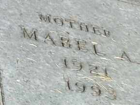 PETERSEN, MABLE A - Hamlin County, South Dakota | MABLE A PETERSEN - South Dakota Gravestone Photos