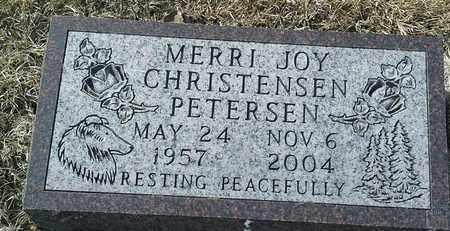 PETERSEN, MERRI JOY - Hamlin County, South Dakota | MERRI JOY PETERSEN - South Dakota Gravestone Photos