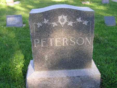 PETERSON, FAMILY PLOT - Hamlin County, South Dakota   FAMILY PLOT PETERSON - South Dakota Gravestone Photos