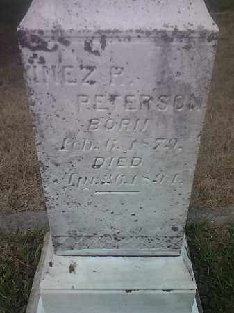 PETERSON, INEZ R - Hamlin County, South Dakota | INEZ R PETERSON - South Dakota Gravestone Photos