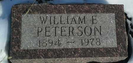 PETERSON, WILLIAM E - Hamlin County, South Dakota | WILLIAM E PETERSON - South Dakota Gravestone Photos