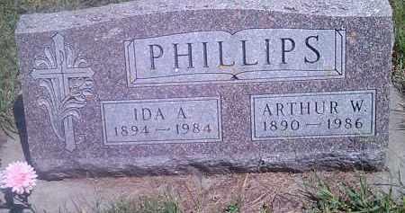 PHILLIPS, IDA A - Hamlin County, South Dakota | IDA A PHILLIPS - South Dakota Gravestone Photos