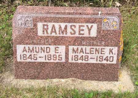 RAMSEY, AMUND E. - Hamlin County, South Dakota | AMUND E. RAMSEY - South Dakota Gravestone Photos