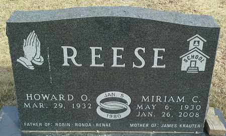 REESE, HOWARD O - Hamlin County, South Dakota | HOWARD O REESE - South Dakota Gravestone Photos