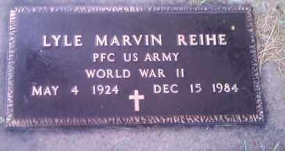 REIHE, LYLE MARVIN (MILITARY) - Hamlin County, South Dakota | LYLE MARVIN (MILITARY) REIHE - South Dakota Gravestone Photos