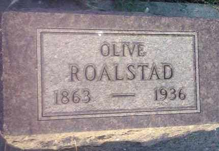 ROALSTAD, OLIVE - Hamlin County, South Dakota | OLIVE ROALSTAD - South Dakota Gravestone Photos