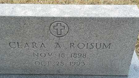 ROISUM, CLARA A - Hamlin County, South Dakota | CLARA A ROISUM - South Dakota Gravestone Photos
