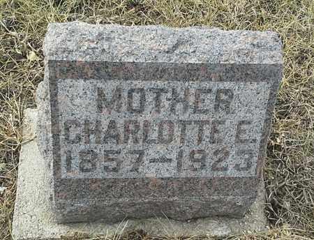 ROISUM, CHARLOTTE E - Hamlin County, South Dakota | CHARLOTTE E ROISUM - South Dakota Gravestone Photos