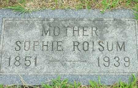 ROISUM, SOPHIE - Hamlin County, South Dakota | SOPHIE ROISUM - South Dakota Gravestone Photos