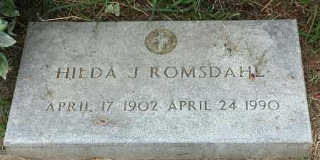 ROMSDAHL, HILDA J - Hamlin County, South Dakota | HILDA J ROMSDAHL - South Dakota Gravestone Photos