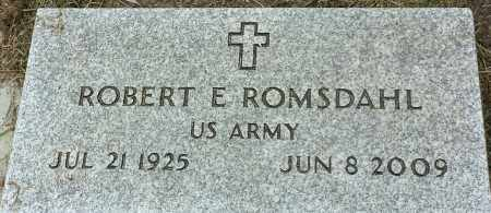 "ROMSDAHL, ROBERT E ""MILITARY"" - Hamlin County, South Dakota 