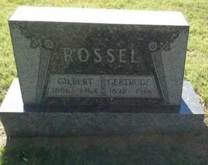 ROSSEL, GILBERT - Hamlin County, South Dakota | GILBERT ROSSEL - South Dakota Gravestone Photos