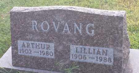 ROVANG, LILLIAN - Hamlin County, South Dakota | LILLIAN ROVANG - South Dakota Gravestone Photos