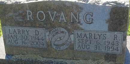 ROVANG, LARRY D - Hamlin County, South Dakota | LARRY D ROVANG - South Dakota Gravestone Photos