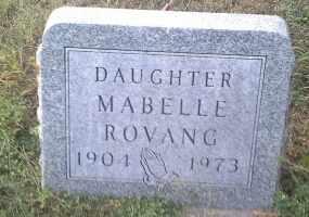 ROVANG, MABELLE - Hamlin County, South Dakota | MABELLE ROVANG - South Dakota Gravestone Photos