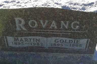 ROVANG, GOLDIE - Hamlin County, South Dakota | GOLDIE ROVANG - South Dakota Gravestone Photos
