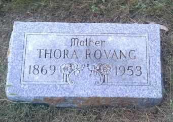 ROVANG, THORA - Hamlin County, South Dakota | THORA ROVANG - South Dakota Gravestone Photos