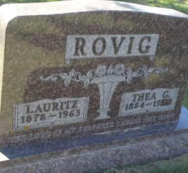 ROVIG, THEA G - Hamlin County, South Dakota | THEA G ROVIG - South Dakota Gravestone Photos