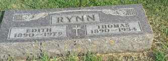 RYNN, THOMAS - Hamlin County, South Dakota | THOMAS RYNN - South Dakota Gravestone Photos