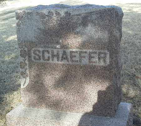 SCHAEFER, FAMILY STONE - Hamlin County, South Dakota | FAMILY STONE SCHAEFER - South Dakota Gravestone Photos