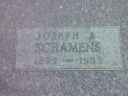 SCHAMENS, JOSEPH A - Hamlin County, South Dakota | JOSEPH A SCHAMENS - South Dakota Gravestone Photos