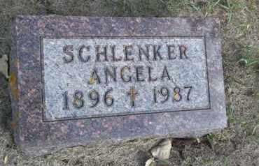 SCHLENKER, ANGELA - Hamlin County, South Dakota   ANGELA SCHLENKER - South Dakota Gravestone Photos