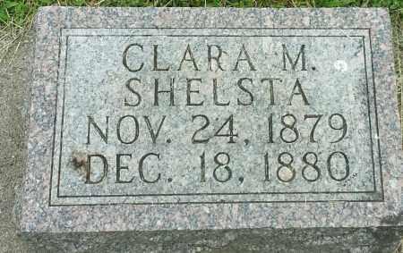 SHELSTA, CLARA M - Hamlin County, South Dakota | CLARA M SHELSTA - South Dakota Gravestone Photos