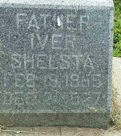 SHELSTA, IVER - Hamlin County, South Dakota | IVER SHELSTA - South Dakota Gravestone Photos