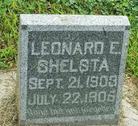 SHELSTA, LEONARD E - Hamlin County, South Dakota   LEONARD E SHELSTA - South Dakota Gravestone Photos