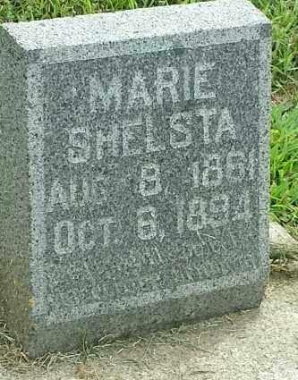 SHELSTA, MARIE - Hamlin County, South Dakota | MARIE SHELSTA - South Dakota Gravestone Photos