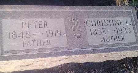 SHELSTA, CHRISTINE L - Hamlin County, South Dakota | CHRISTINE L SHELSTA - South Dakota Gravestone Photos