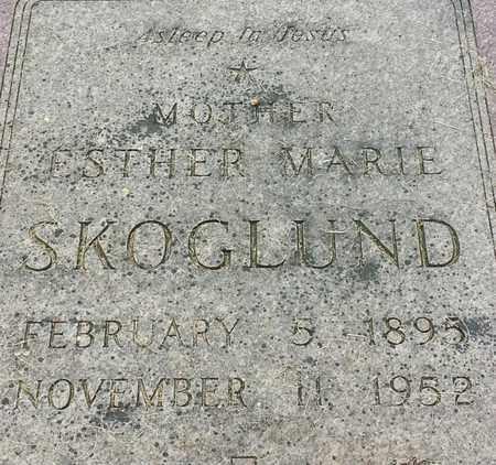 SKOGLUND, ESTHER MARIE - Hamlin County, South Dakota | ESTHER MARIE SKOGLUND - South Dakota Gravestone Photos