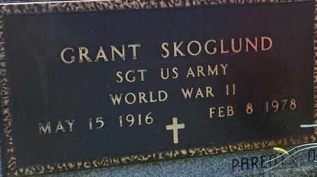 "SKOGLUND, GRANT ""MILITARY"" - Hamlin County, South Dakota   GRANT ""MILITARY"" SKOGLUND - South Dakota Gravestone Photos"
