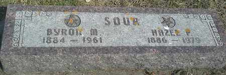 SOUR, HAZEL P - Hamlin County, South Dakota | HAZEL P SOUR - South Dakota Gravestone Photos