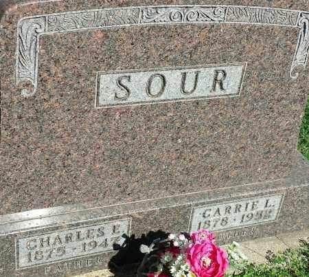 SOUR, CHARLES E - Hamlin County, South Dakota | CHARLES E SOUR - South Dakota Gravestone Photos