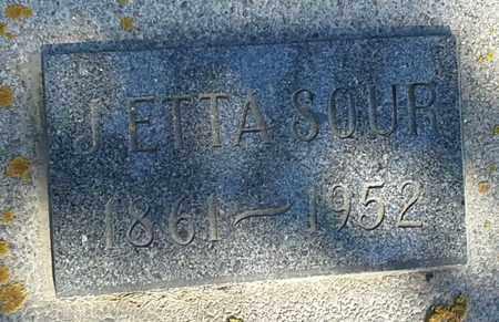 SOUR, ETTA - Hamlin County, South Dakota | ETTA SOUR - South Dakota Gravestone Photos