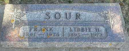 SOUR, FRANK - Hamlin County, South Dakota   FRANK SOUR - South Dakota Gravestone Photos