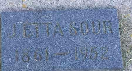 SOUR, LETTA - Hamlin County, South Dakota | LETTA SOUR - South Dakota Gravestone Photos
