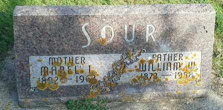SOUR, WILLIAM W - Hamlin County, South Dakota | WILLIAM W SOUR - South Dakota Gravestone Photos